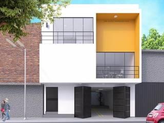FACHADA DEPARTAMENTOS AVELLANAS de SEA arquitectura Moderno