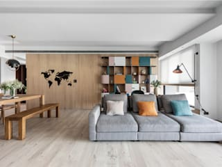 禾光室內裝修設計 ─ Her Guang Design Modern living room