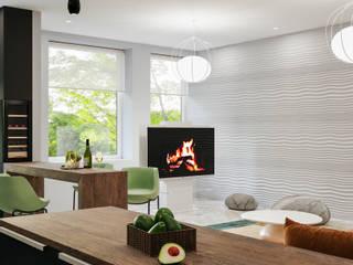 Harmony Space Кухня в стиле модерн от Roksana Design Модерн