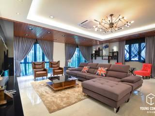 Semi-D @ Bukit Segar by Young Concept Design Sdn Bhd Modern