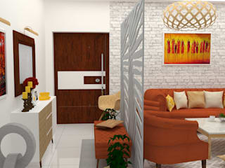 Modern living room by be ZEN Design Modern