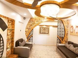 Bramha exubrance 2bhk: modern  by Envoy Interiors Pvt ltd,Modern