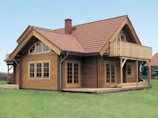 Casas de estilo moderno de günsoy orman ürünleri Moderno