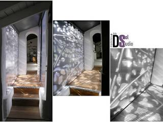 Rehabilitación de vivienda en La Angostura, Gran Canaria (2017) Pasillos, vestíbulos y escaleras de estilo minimalista de DSol Studio de Arquitectura + Arte Minimalista