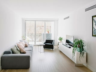 Salas de estilo moderno de nimú equipo de diseño Moderno