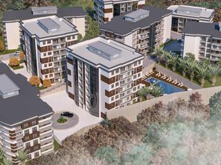 Modern Houses by ŞENALTUN YAPI İNŞAAT SAN. VE TİC.LTD.ŞTİ. Modern