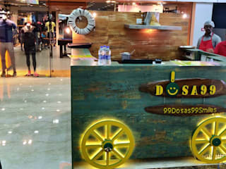 SGS Mall Pune- Food court Makeover for Dosa 99 by Yogita Singh