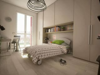 BEDROOM DESIGN Camera da letto moderna di Ivan Rivoltella Moderno