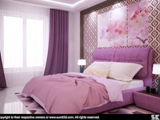 Modern style bedroom by Cosmos Interiors Modern
