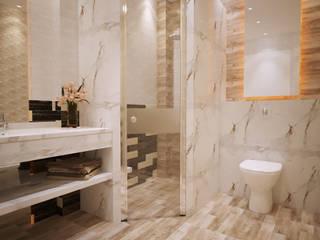 Baños de estilo  por Cosmos Interiors, Moderno