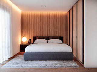 Minimalist bedroom by Ancla Imports S.A. de C.V. Minimalist