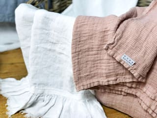 NatureBed BathroomTextiles & accessories Flax/Linen Pink