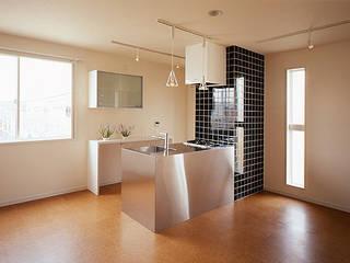 さくらアパートメント: 一級建築士事務所あとりえが手掛けたキッチンです。