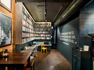 The Hedgehog Cafe:   by TBC ARCHITECTURE,