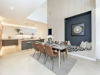 Dulwich Townhouse:  Dining room by LJ Interiors , Modern