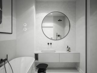 mieszkanie: styl , w kategorii Łazienka zaprojektowany przez oshi pracownia projektowa,