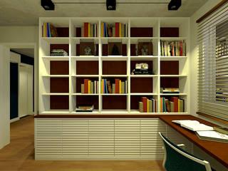 Apartamento do Victor: Escritórios  por OBARQ,Minimalista