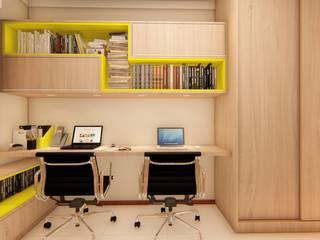 Apartamento no Hemisphere 360: Escritórios  por OBARQ,Moderno