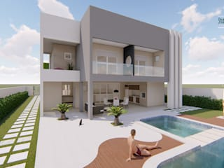 Houses by Studio Barreto Fernandes, Modern