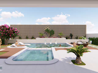 Pool by Studio Barreto Fernandes, Modern