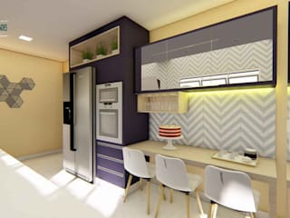 Kitchen by Studio Barreto Fernandes, Modern