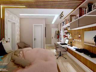 Bedroom by Studio Barreto Fernandes, Modern