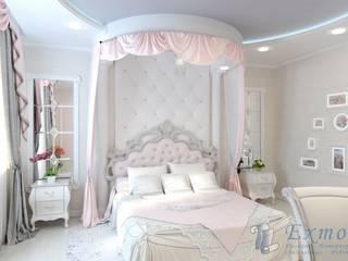 Нежная детская для девочки Детская комнатa в классическом стиле от Цунёв_Дизайн. Студия интерьерных решений. Классический