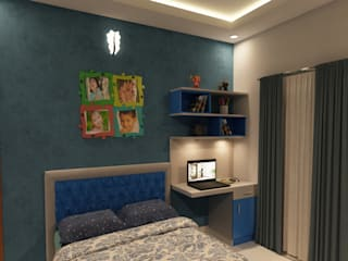 Sunrise Apartment, Bachupally, Hyderabad by SD Interiors & Modulars