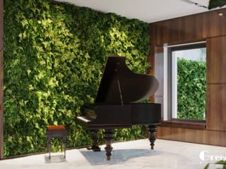 """LỘ DIỆN THIẾT KẾ """"NHÀ NGƯỜI TA"""" BẢN GIAO HƯỞNG XANH GIỮA LÒNG GREEN BAY: hiện đại  by Green Interior, Hiện đại"""