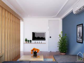 """BIỆT THỰ TRẦN QUÝ CÁP THIẾT KẾ VỚI TRIẾT LÝ THIỀN – PHONG CÁCH """"ZEN"""": hiện đại  by Green Interior, Hiện đại"""