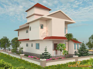 Bungalow Design 3D by Rakshit Enterprises