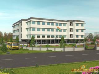 School Building 3D by Rakshit Enterprises