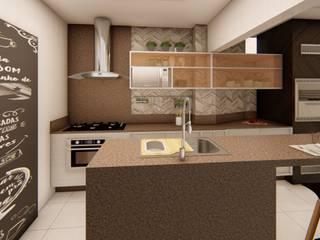 modern  by Fark Arquitetura e Design, Modern