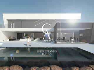 Casa Ac de CADICZA   Arquitectos Minimalista