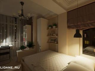 Kamar tidur kecil oleh Lidiya Goncharuk, Skandinavia