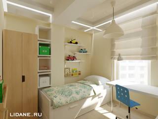 Kamar tidur anak laki-laki oleh Lidiya Goncharuk, Skandinavia