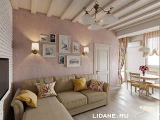 Livings de estilo  por Lidiya Goncharuk , Rural