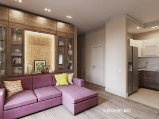 Ruang Keluarga oleh Lidiya Goncharuk, Minimalis
