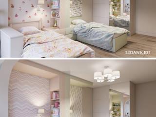 Dormitorios infantiles de estilo  por Lidiya Goncharuk , Ecléctico