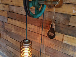 industrial  by Lamparas Vintage Vieja Eddie, Industrial