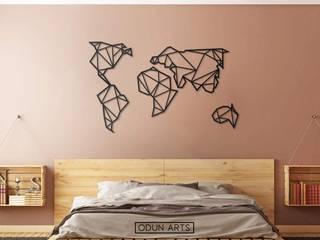 Conviction Map - Odun Arts / Tótem Madera de Odun Arts Minimalista