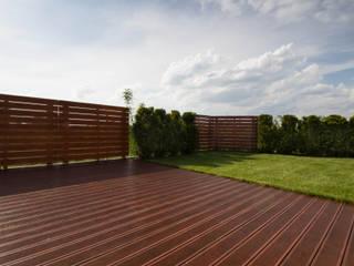 Hiên, sân thượng phong cách hiện đại bởi Bednarski - Usługi Ogólnobudowlane Hiện đại