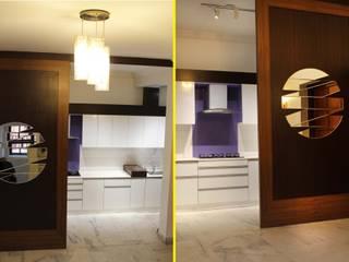 Residence:  Corridor & hallway by Pheon Design Services (P) Ltd.,