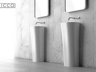 ZICCO GmbH - Waschbecken und Badewannen in Blankenfelde-Mahlow Pusat Eksibisi Modern Marmer White
