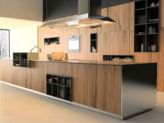 Rustic style kitchen by Interceramic MX Rustic