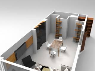 Oficinas Hucas Estudios y despachos modernos de Espacio27 Moderno