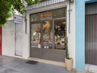 Casa Pitanga Café 1 Espaços gastronômicos modernos por Estúdio Ventana Moderno