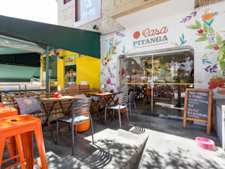 Casa Pitanga 2 Espaços gastronômicos modernos por Estúdio Ventana Moderno