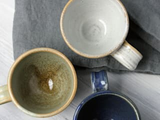Handmade Mugs: rustic  by The Little Pot Company, Rustic