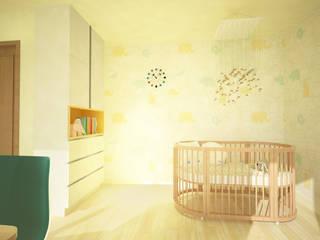 Nursery/kid's room by DW Interiors,